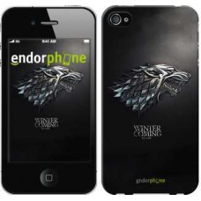 Чехол для iPhone 4 Game of thrones. Stark House 1120c-15