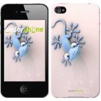 Чехол для iPhone 4s Гекончик 1094c-12