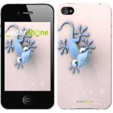 Чехол для iPhone 4 Гекончик 1094c-15