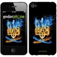 Чехол для iPhone 4 Герб 1635c-15