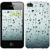 Чехол для iPhone 4 Стекло в каплях 848c-15