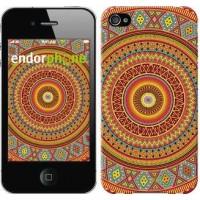 Чехол для iPhone 4 Индийский узор 2860c-15