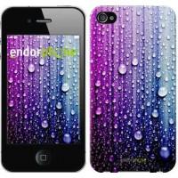 Чехол для iPhone 4 Капли воды 3351c-15