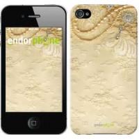 Чехол для iPhone 4s Кружевной орнамент 2160c-12