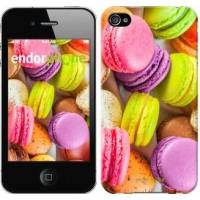Чехол для iPhone 4s Макаруны 2995c-12