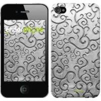 Чехол для iPhone 4s Металлический узор 1015c-12