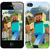 Чехол для iPhone 4 Minecraft 4 2944c-15