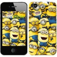 Чехол для iPhone 4 Миньоны 8 860c-15