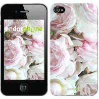 Чехол для iPhone 4 Пионы v2 2706c-15