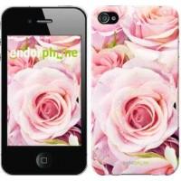 Чехол для iPhone 4 Розы 525c-15