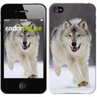 Чехол для iPhone 4s Бегущий волк 826c-12