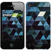 Чехол для iPhone 4s Треугольники 2859c-12