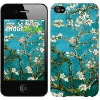 Чехол для iPhone 4 Винсент Ван Гог. Сакура 841c-15