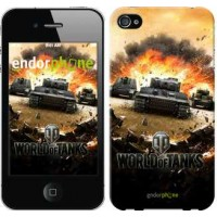 Чехол для iPhone 4 World of tanks v1 834c-15