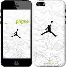Чехол для iPhone 5 Air Jordan 3688c-18