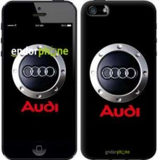 Чехол для iPhone 5 Audi. Logo v2 3105c-18