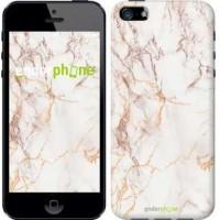 Чехол для iPhone 5s Белый мрамор 3847c-21