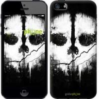 Чехол для iPhone 5 Call of Duty череп 150c-18