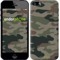 Чехол для iPhone 5s Камуфляж v3 1097c-21