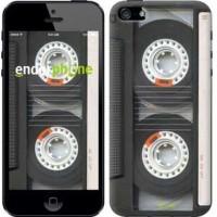 Чехол для iPhone SE Кассета 876c-214