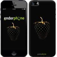 Чехол для iPhone 5 Черная клубника 3585c-18