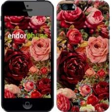 Чехол для iPhone 5 Цветущие розы 2701c-18