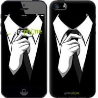 Чехол для iPhone SE Галстук 2975c-214