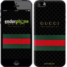 Чехол для iPhone 5 Gucci 1 451c-18