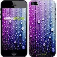 Чехол для iPhone 5 Капли воды 3351c-18