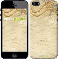 Чехол для iPhone 5s Кружевной орнамент 2160c-21