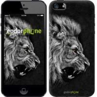 Чехол для iPhone 5 Лев 1080c-18