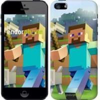 Чехол для iPhone 5s Minecraft 4 2944c-21