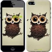 Чехол для iPhone SE Сова из кофе 777c-214