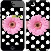 Чехол для iPhone SE Горошек 2 2147c-214