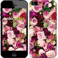 Чехол для iPhone 5s Розы и пионы 2875c-21