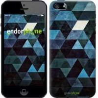 Чехол для iPhone 5 Треугольники 2859c-18