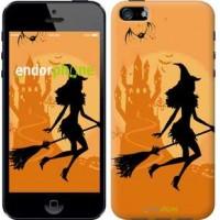 Чехол для iPhone SE Ведьма на метле 1184c-214