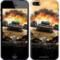 Чехол для iPhone 5 World of tanks v1 834c-18