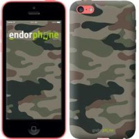 Чехол для iPhone 5c Камуфляж v3 1097c-23