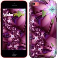 Чехол для iPhone 5c Цветочная мозаика 1961c-23