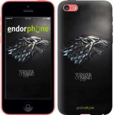 Чехол для iPhone 5c Game of thrones. Stark House 1120c-23