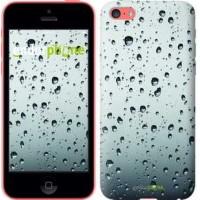 Чехол для iPhone 5c Стекло в каплях 848c-23