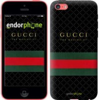 Чехол для iPhone 5c Gucci 1 451c-23