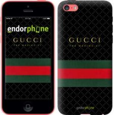 Чехол для iPhone 5c Gucci 1 451c-23
