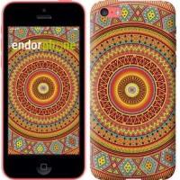 Чехол для iPhone 5c Индийский узор 2860c-23