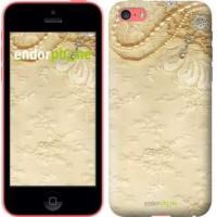 Чехол для iPhone 5c Кружевной орнамент 2160c-23