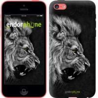 Чехол для iPhone 5c Лев 1080c-23