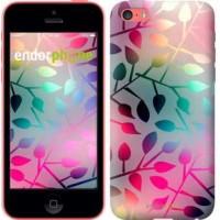 Чехол для iPhone 5c Листья 2235c-23