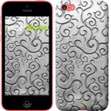 Чехол для iPhone 5c Металлический узор 1015c-23