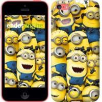 Чехол для iPhone 5c Миньоны 8 860c-23